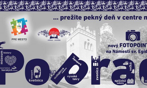 Nový fotopoint v Poprade